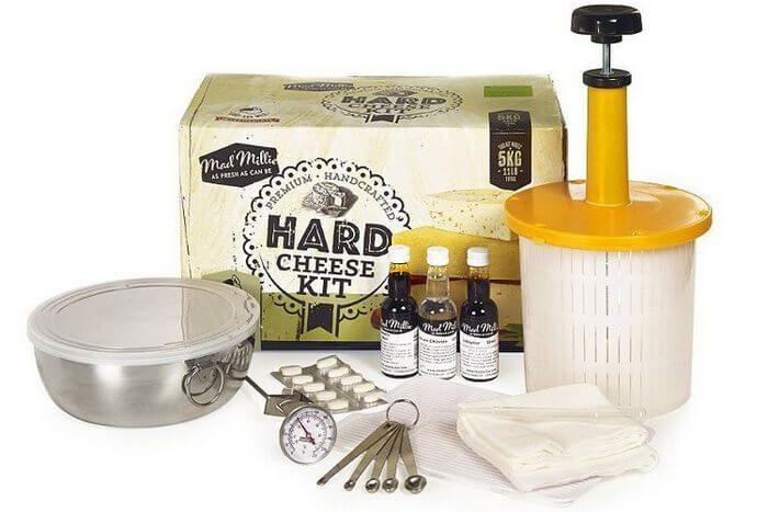 Набор для приготовления сыра в домашних условиях.